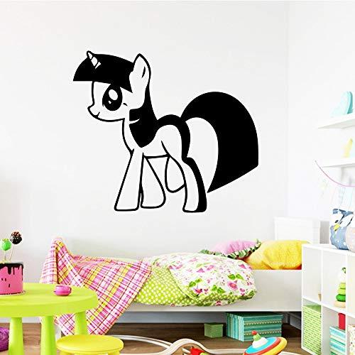 zqyjhkou Funny My Little Pony für Kinderzimmer Dekoration Accessoires Jungen Mädchen Schlafzimmer Dekor wallst42x70cm