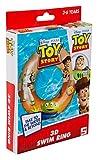 Sambro DTS-3395 - Anello galleggiante con effetto 3D, ca. 50 cm, Toy Story, motivo Woody e Buzz Lightyear, per bambini da 3 a 6 anni, con valvola di sicurezza, per piscina, spiaggia, multicolore