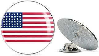 United States of America 48 Star Flag Steel Metal 0.75