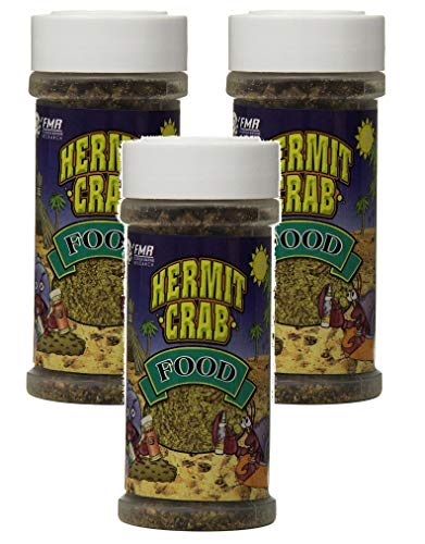 Florida Marine Research SFM00005 Hermit Crab Food, 4-Ounce (4-Ounce 3-Pack)