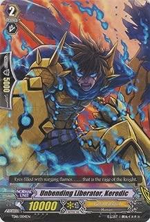 Cardfight!! Vanguard TCG - Unbending Liberator, Keredic (TD16/004EN) - Trial Deck 16: Divine Judgement of the Bluish Flames