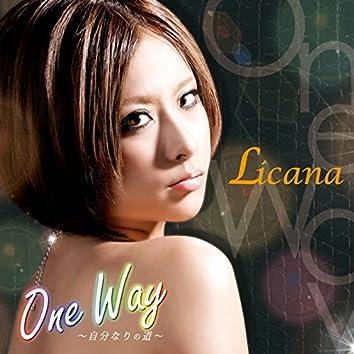 One Way -Jibunnarino Michi-
