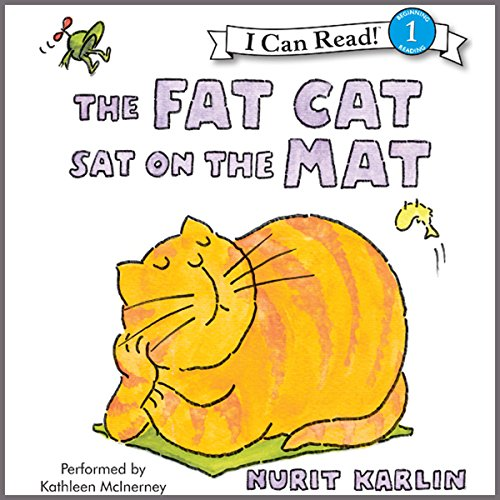 The Fat Cat Sat on the Mat audiobook cover art