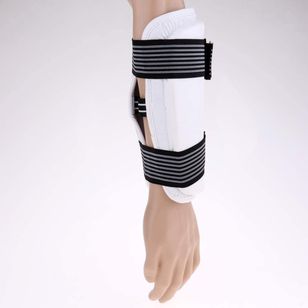 N//A//a Protector de Antebrazo de Brazo Y Codo Taekwondo Protector de Codos de Artes Marciales para J/óvenes