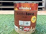 XILODEX ACEITE DE TECA EN 0,75L- Aceite teca de gran calidad para la protección de madera expuesta al sol y que han perdido su brillo y color.