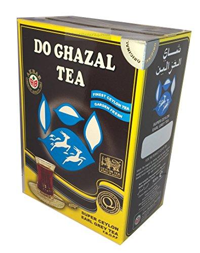 Do Ghazal Tee- als Loser Tee und Beutel-Tee, in Schwarztee, Grünertee und Kräutertee (Earl Grey, 500 Gramm)