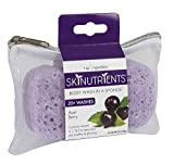 Spongeables Skinutrients Body Wash in a Sponge, Acai Berry with Bonus Travel Bag, 20+ Washes, 3.5 Oz