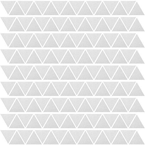 PREMYO 144 Triángulos Pegatinas Pared Infantil - Vinilos Decorativos Habitación Bebé Niños...