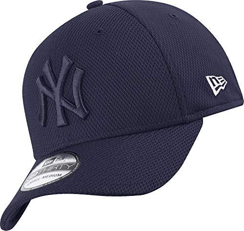 New Era York Yankees 39thirty Adjusable Cap MLB Diamond Era Tonal Navy - M - L
