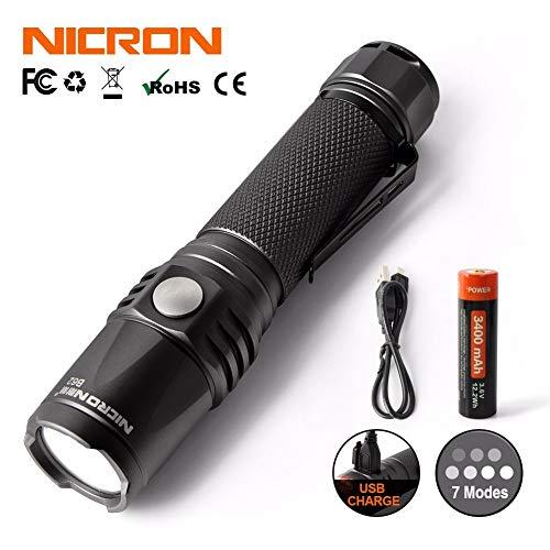Nitecore 380lm Mini Handheld Torch Micro USB Wiederaufladbare Taschenlampe