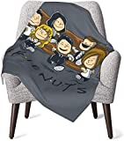 Keyboard cover Snoopy and Friends Babydecke oder Flauschige Decke für Kinder Unisex-Decke für Kinderbett Couch Travel Superweiche warme Kinderdecke 50x40in-8J