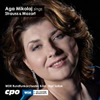 Aga Mikolaj Sings Strauss & Mozart by STRAUSS / MOZART (2011-03-29)