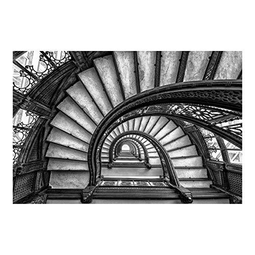 Tapete selbstklebend - Chicagoer Treppenhaus - Fototapete Querformat 255 x 384cm