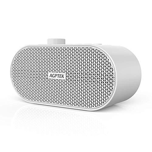 AGPTEK White Noise Machine Portatile Elegante e Compatto Adatto a Bambini e Adulti Aiuta a Dormire Alleviare lo Stress Bianco.