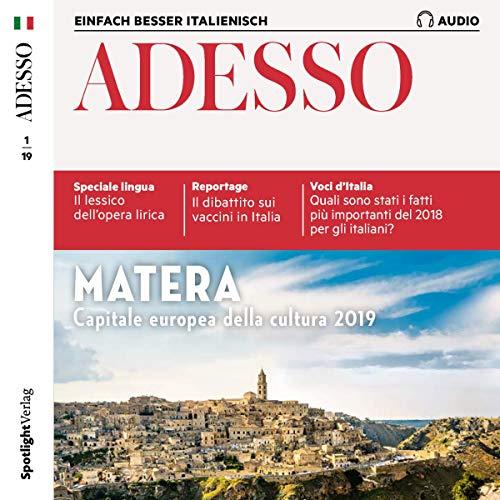 ADESSO Audio - Matera. 1/2019 Titelbild
