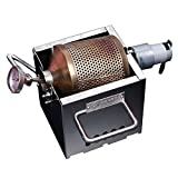 KALDI-5 Mini Home Coffee Bean Roaster with Thermometer (200~250g) -Gas Burner Required (Auto Motorize)