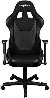 DXRacer OH/FD101/N Black Formula Series Gaming Chair Ergonomic High Backrest Office Computer Chair Esports Chair Swivel Tilt and Recline with Headrest and Lumbar Cushion + Warranty