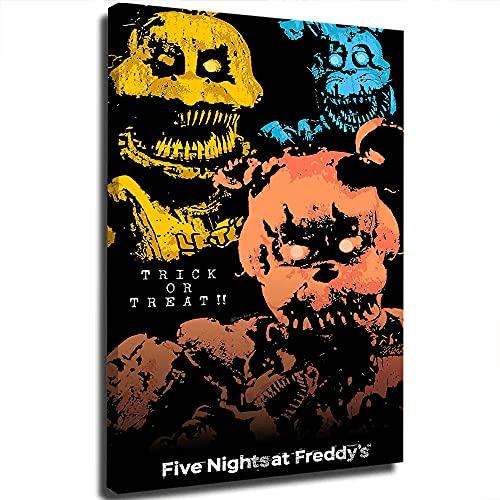 Five Nights At Freddy'S - Fotografía personalizada para lienzo, diseño de graffiti