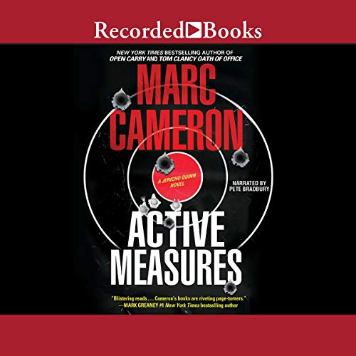 Active Measures audiobook cover art