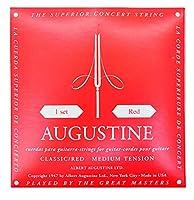 AUGUSTINE オーガスチン クラシックギター弦セット RED