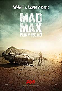 Mad Max: Fury Road Movie Poster 11 x 17 Style A (2015) Unframed