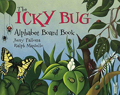 Alphabet Book:Icky Bug (Board Book) by Jerry Pallotta (July 01,2000)