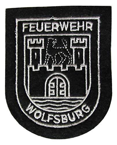 Feuerwehr - Wolfsburg - Ärmelabzeichen - Abzeichen - Aufnäher - Patch - Motiv 1