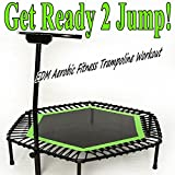 Get Ready 2 Jump & DJ Mix (EDM Aerobic Fitness Trampoline Workout) (Screw Legs and Strong Bungees...