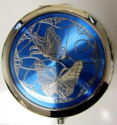 Purse Al sold out. Handbag Double Compact Cosmetic Butterflies - Today's only Two Mirror