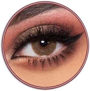 Lensme Latte Contact Lenses, Original Unisex Lensme Cosmetic Contact Lenses, Six Months Disposable, Latte Special Brown Color