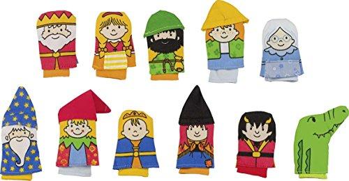 Goki - 51651 - Assortiment de Marionnettes à Doigt - 11 Elément