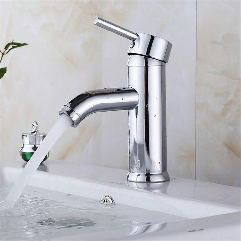 DFRQJHQGH Bathroom Basin Faucet Water Mixer Tap Basin Sink Faucet Mixer Single Hole Brass Chrome Wash Basin Faucet