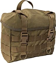 FireForce Military MOLLE Field Butt Pack Made in USA (Tactical Tan)