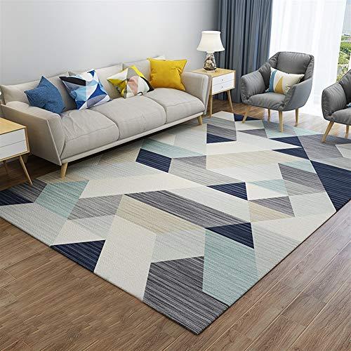 Insun Alfombra de Diseño Escandinavo Elementos Moderno Alfombra de Salon Antideslizante Lavable Estilo 5 120x160cm