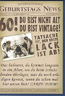 Geburtstags Karte Zum 60 Wunderweib