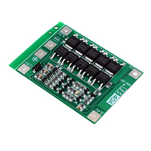 #N/A 3s 40a 18650 li-ionen-Lithium-Batterie PCB-Schutz Platine 11,1 v 12,6 v mit ausgewogener/verbesserter schaltung über ladestrom Schutz - Enhanced Edition