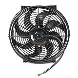 Ventilador De Refrigeración Del Radiador, Conjunto De Ventilador De...