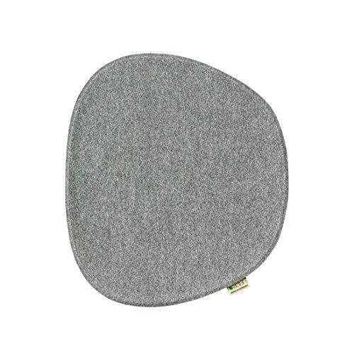 Violan Sitzkissen Eames Side Chair, Silver-Grey
