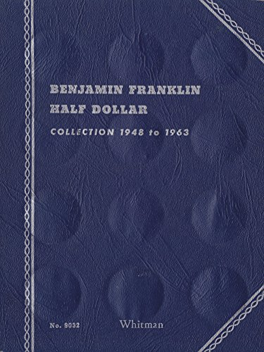 1948-1963 BENJAMIN FRANKLIN HALF DOLLAR ALBUM TRIFOLD 35 coin WHITMAN No 9032 COIN; ALBUM, BINDER, BOARD, BOOK, CARD…