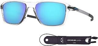 Oakley Wheel House OO9469 Square Sunglasses for Men + BUNDLE with Oakley Accessory Leash Kit