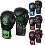 VerusボクシングトレーニンググローブGelスパーリングMMAムエタイバッグMitts Kickboxing UfcケージFighting グリーン