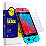 SmartDevil- Anti-blue light for Nintendo switch2.5D arc edge tempered film [2 pieces] [high definition] [9H hardness scratch prevention] for Nintendo switch.