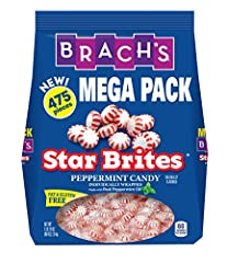 Brach's peppermints: Sweeten the moment with the classic minty fresh taste of Brach's Star Brite Peppermint hard candy, individually wrapped and perfect for holiday candy dishes or sharing with family and friends Brach's hard candy: Star Brite Pepper...