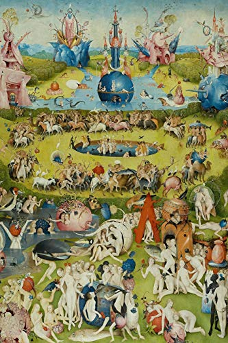 "Hieronymus Bosch Planner #8: The Garden of Earthly Delights Hieronymus Bosch Weekly And Monthly Planner And Organizer 6x9"" To Write In. Cool Artist Gifts."