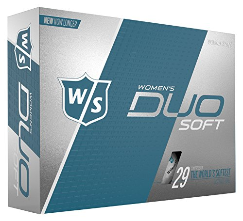 Wilson Staff DUO Golf Ball, Soft, Women's