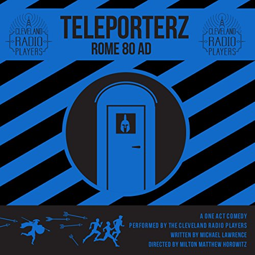 Teleporterz - Rome 80 AD audiobook cover art