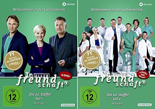 In aller Freundschaft - Die komplette Staffel 20 (20.1 +20.2) im Set - Deutsche Originalware [11 DVDs]