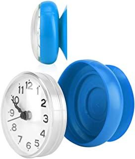 Details about  /1* Suction Wall Clock Waterproof Bathroom Kitchen Clock Durable Hot