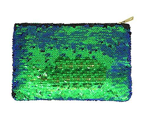 Magibag DIY Mermaid Sequin Cosmetic Bag Magic Glitter Handbag Bling Evening Party Clutch Purse