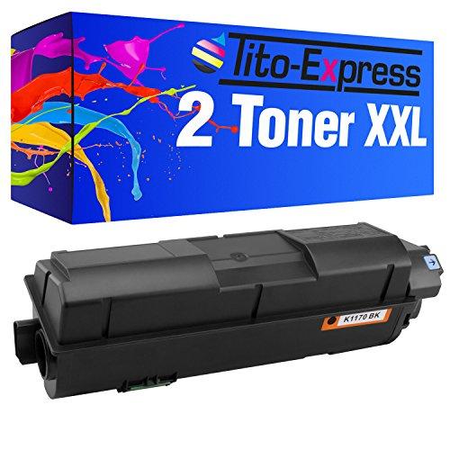 PlatinumSerie 2X Toner XXL für Kyocera TK-1170 EcoSys M2040DN M2540DN M2540DNE M2540DNW M2640IDW